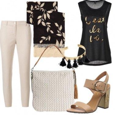 Outfit Casual con accessori di classe
