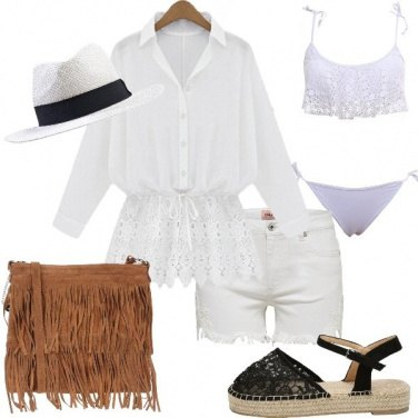 Outfit Trendy con il pizzo