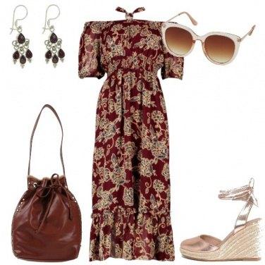 Outfit Un vestito lungo per l\'estate