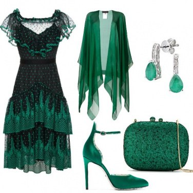 Outfit Green marriage