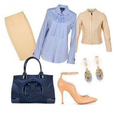 Outfit CMPS Pencil skirt