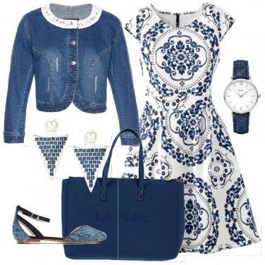 Outfit Denim bon ton