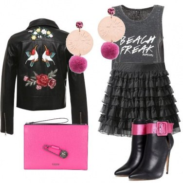 Outfit Barbie rock