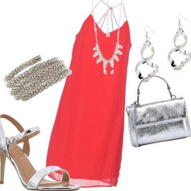 Outfit Semplicemente argento