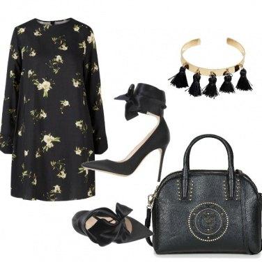 Outfit Un vestitino a fiori