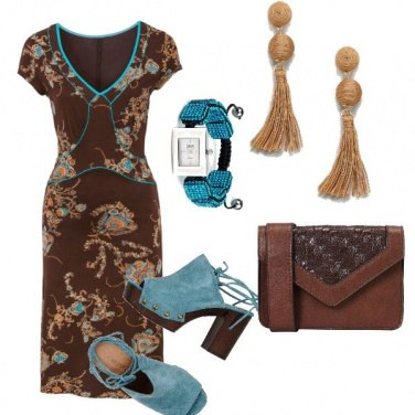 Outfit Dsl Brown&blu
