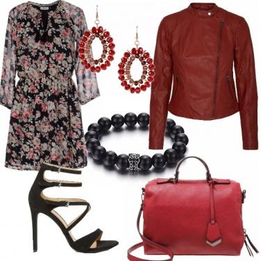Outfit Vestitino fiorato