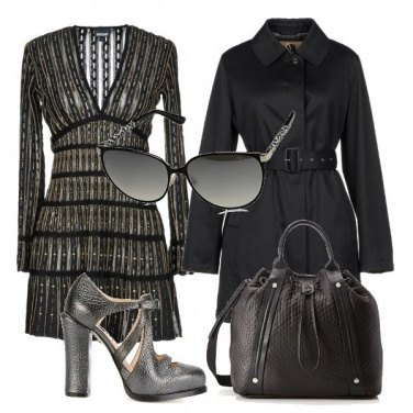 Outfit Trench&dress