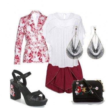 Outfit Corto elegante