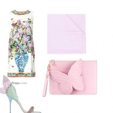 Outfit Fuori e farfalle