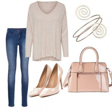 Outfit Sportiva ma elegante ##