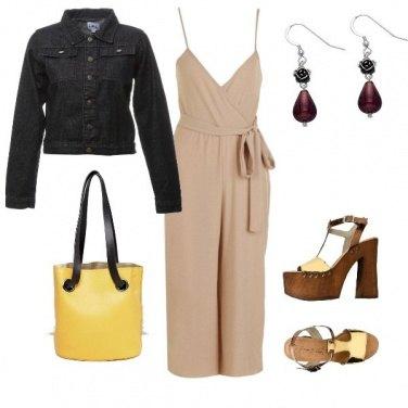 Outfit Zatteroni legno e oro