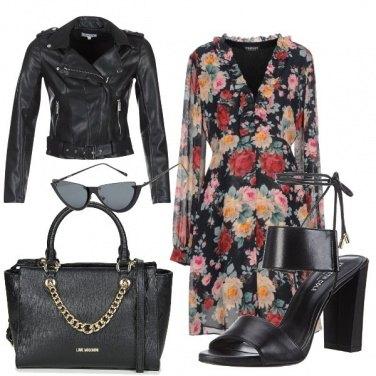 Outfit Rock a fiori