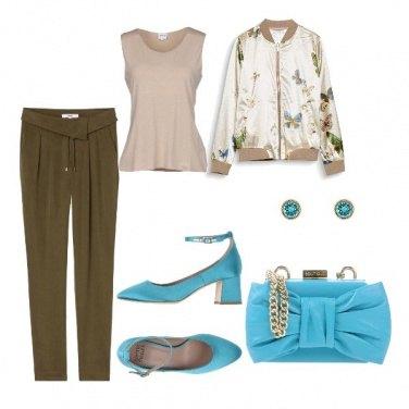 Outfit Vivacizzare col turchese