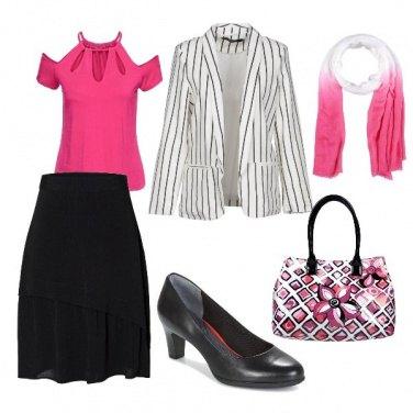 Outfit Ufficio a colori