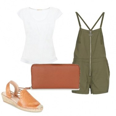 Outfit Cuoio