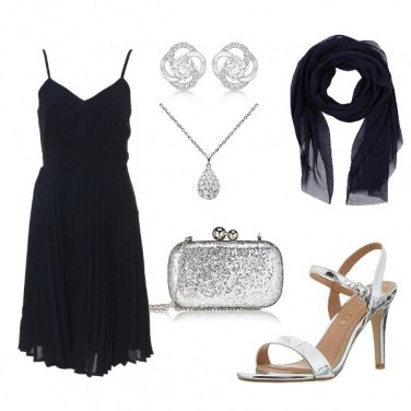 Outfit Blue/silver