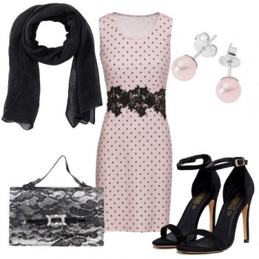 Outfit Pizzo & Pois