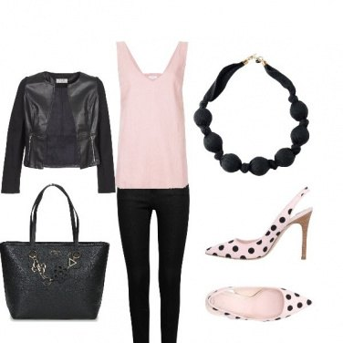 Outfit Dsl- pinkblack