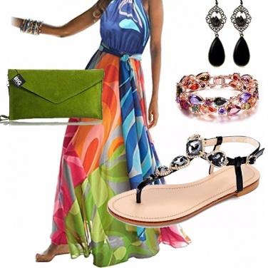 Outfit Elegante e glamour