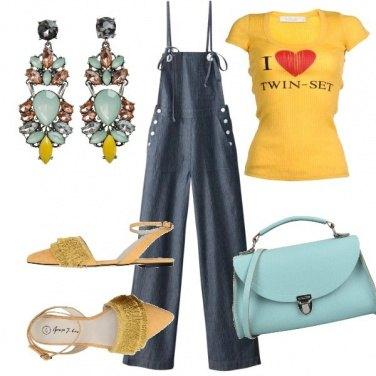 Outfit Le flat con le frange