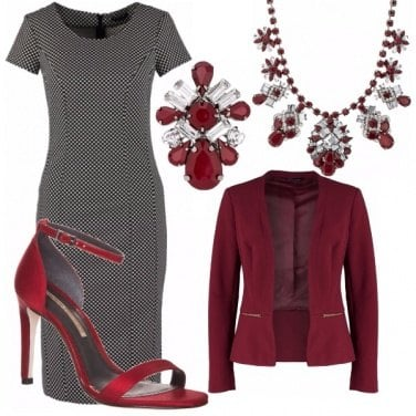 Outfit Mrs. Bordeaux