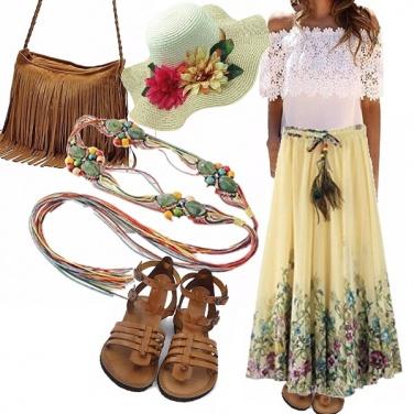 Outfit Lo stile bohemien