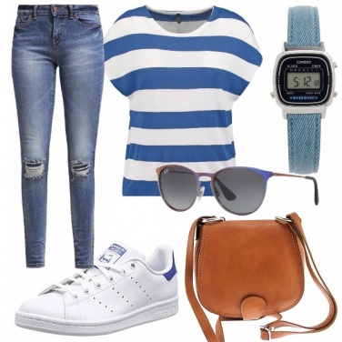 Outfit Basic - royal blue