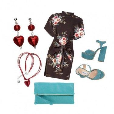 Outfit CMPS Effetto kimono
