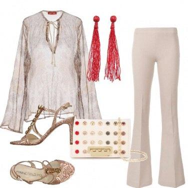 Outfit Pantaloni per la cerimonia