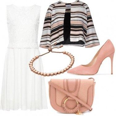 Outfit Cipria sofisticato