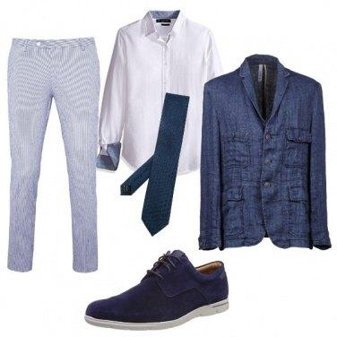 Outfit La freschezza del blazer in lino