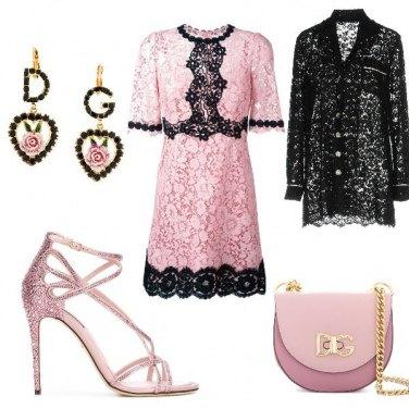 Outfit Il sandalo gioiello in D&G