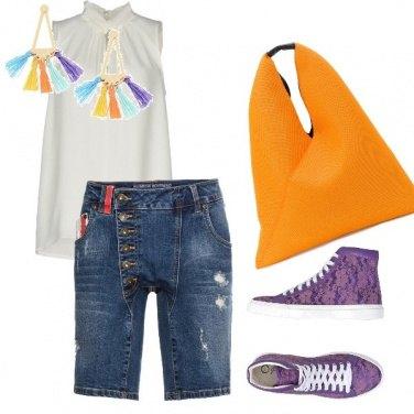 Outfit Una giornata colorata