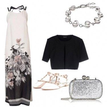 Outfit Cerimonia in abito lungo