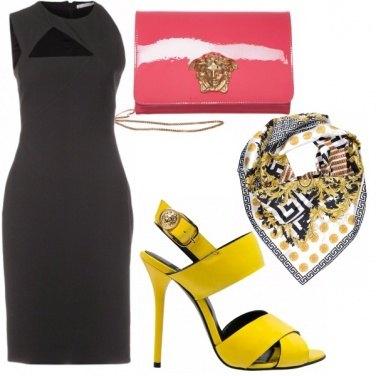 Outfit COLOR BLOCK Versace