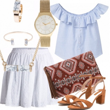 Outfit Raffinato minimalismo
