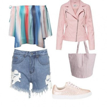 Outfit Uno strano arcobaleno
