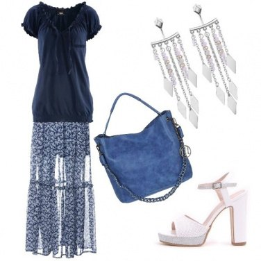 Outfit \'70 ... gonna in voile