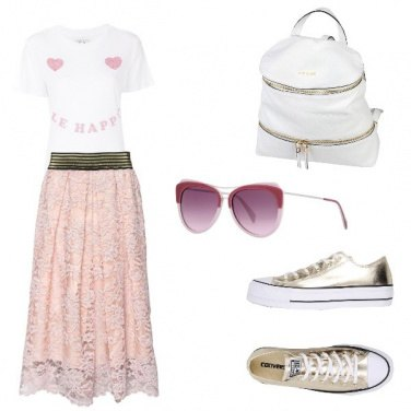 Outfit Gelato e pettegolezzi