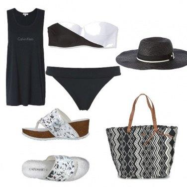 Outfit Calvin Klein beach style