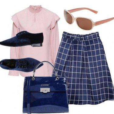 Outfit Bon ton rigoroso