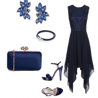 Outfit Tofly_cerimonia total blue