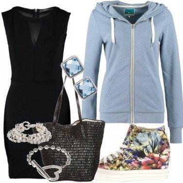 Outfit Black Dress light