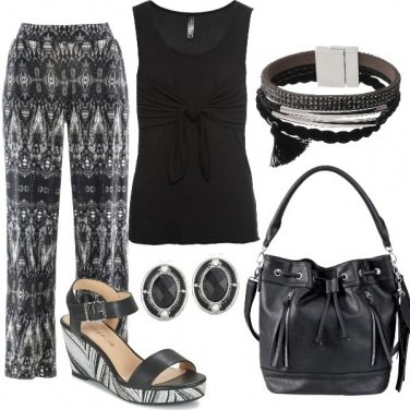 Outfit Etnic black