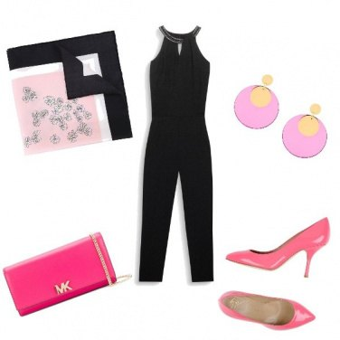 Outfit Chic pink