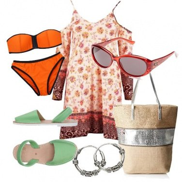 Outfit CMPS Alla spiaggia!