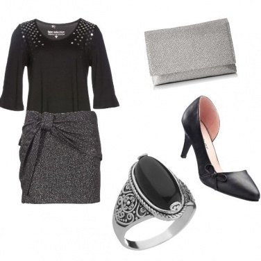 Outfit Fiocchi chic