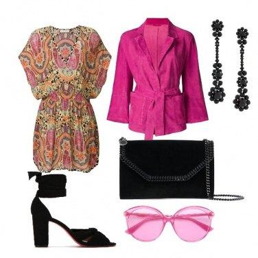 Outfit Allegria fucsia