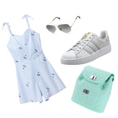 Outfit Light Blue outfit